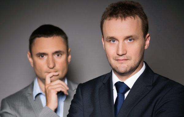 Sesja biznesowa J. Mroczka i R. Tymińskiego