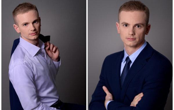 Sesja wizerunkowa Wojciecha Wojasa