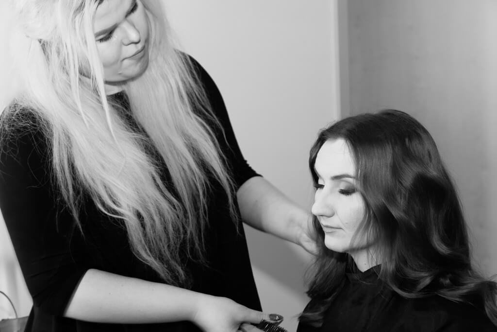 sesja wizerunkowa - making of