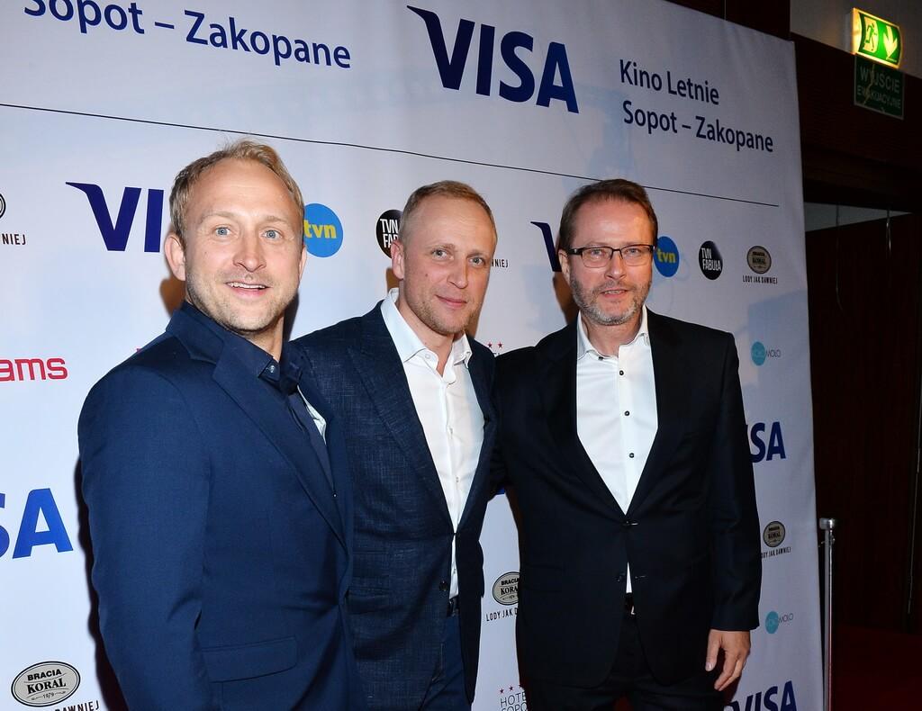 Borys Szyc, Piotr Adamczyk, Artur Żmijewski